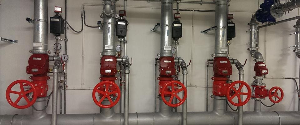 Installation, maintenance and repair of fire protections