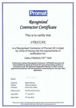 zabezpieczenia bierne - certyfikat 110