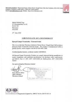 zabezpieczenia bierne - certyfikat 14