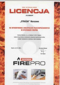 zabezpieczenia bierne - certyfikat 21