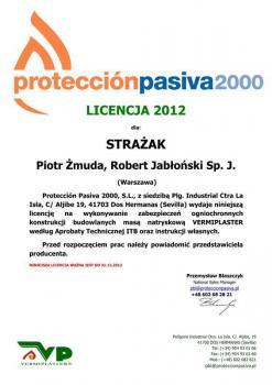 zabezpieczenia bierne - certyfikat 22