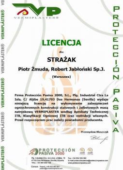 zabezpieczenia bierne - certyfikat 23