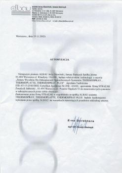 zabezpieczenia bierne - certyfikat 5