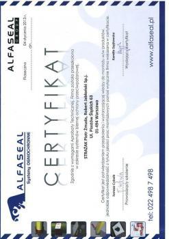 zabezpieczenia bierne - certyfikat 51