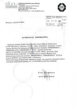 zabezpieczenia bierne - certyfikat 6