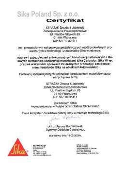 zabezpieczenia bierne - certyfikat 7