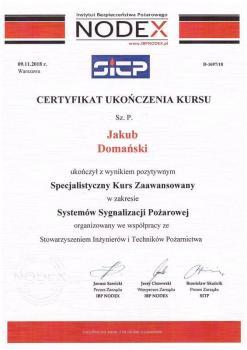 zabezpieczenia czynne certyfikat 1