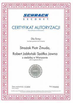 zabezpieczenia czynne -  certyfikat 190