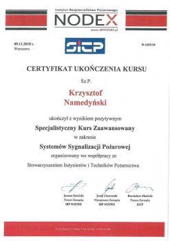 zabezpieczenia czynne certyfikat 2