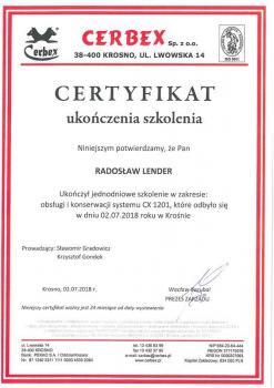 zabezpieczenia czynne certyfikat 3