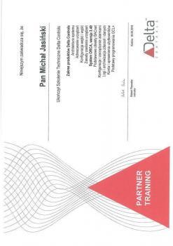 zabezpieczenia czynne certyfikat 6