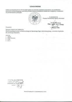 zabezpieczenia przeciwpożarowe -  inne certyfikaty 5