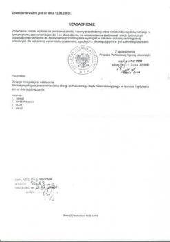 zabezpieczenia przeciwpożarowe -  inne certyfikaty 7