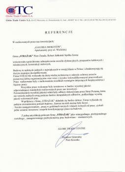 zabezpieczenia przeciwpożarowe - referencje 101