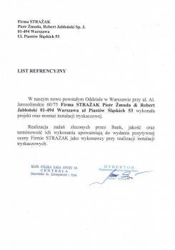 zabezpieczenia przeciwpożarowe - referencje 104