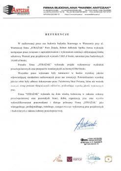 zabezpieczenia przeciwpożarowe - referencje 107