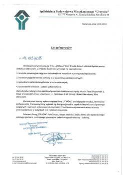 zabezpieczenia przeciwpożarowe - referencje 15