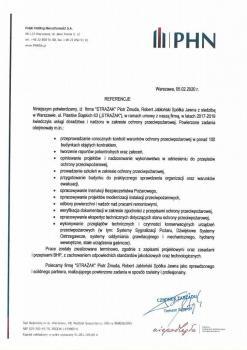 zabezpieczenia przeciwpożarowe - referencje 2