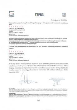 zabezpieczenia przeciwpożarowe - referencje 27