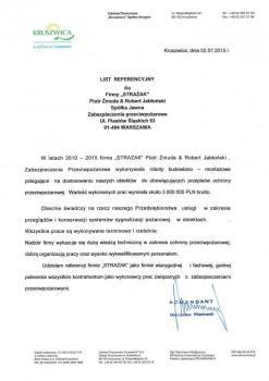 zabezpieczenia przeciwpożarowe - referencje 34