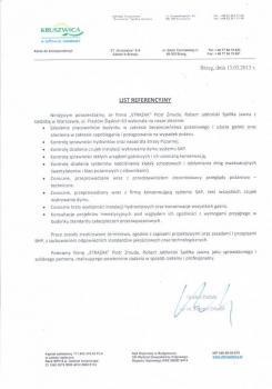 zabezpieczenia przeciwpożarowe - referencje 50