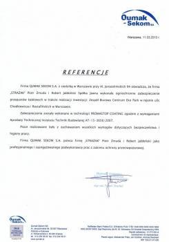 zabezpieczenia przeciwpożarowe - referencje 57