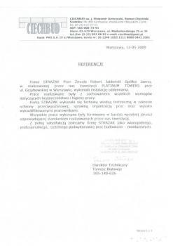 zabezpieczenia przeciwpożarowe - referencje 65