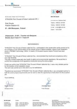 zabezpieczenia przeciwpożarowe - referencje 70