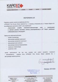 zabezpieczenia przeciwpożarowe - referencje 73