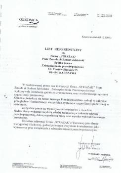 zabezpieczenia przeciwpożarowe - referencje 79