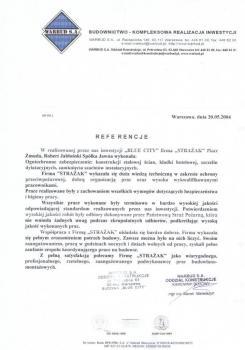 zabezpieczenia przeciwpożarowe - referencje 85