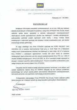 zabezpieczenia przeciwpożarowe - referencje 86