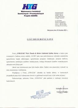zabezpieczenia przeciwpożarowe - referencje 89