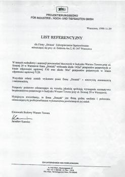 zabezpieczenia przeciwpożarowe - referencje 91