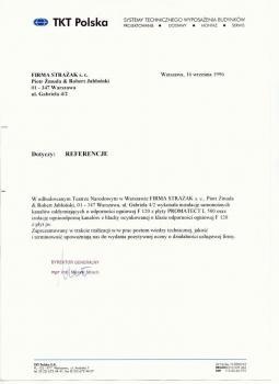 zabezpieczenia przeciwpożarowe - referencje 96