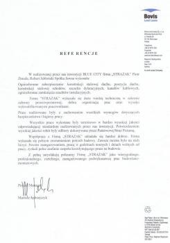 zabezpieczenia przeciwpożarowe - referencje 99